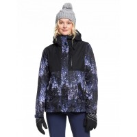 Roxy Jetty 3in1 Jkt (MEDIEVAL BLUE SPARKLES-BTE2) - 20